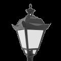 Уличный светильник Retro Опал