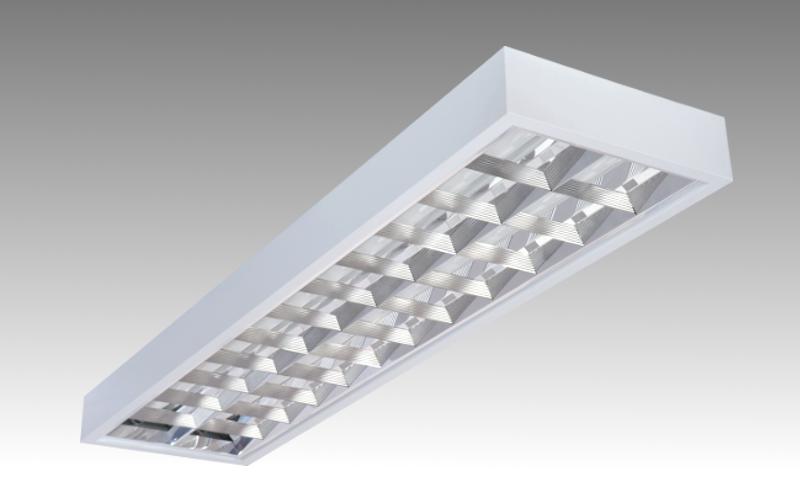 Люминесцентный светильник ЛПО 2х36-CSVT