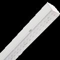 Модульный светильник из алюминиевого профиля с трехрядной оптикой и транзитной проводкой VOLGA EU